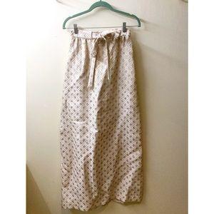 Dresses & Skirts - Vintage Golden Maxi Skirt